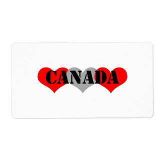Canada Shipping Label