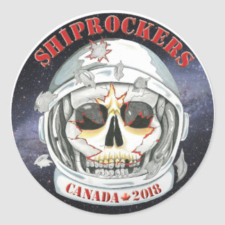 Canada Shiprockers 2018 Sticker