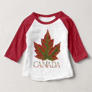 Canada Shirts Baby Autumn Canada Maple Leaf Shirt