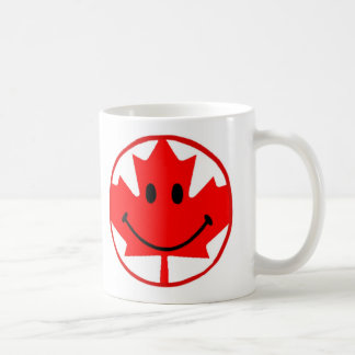 Canada Smiley Coffee Mug 11 oz