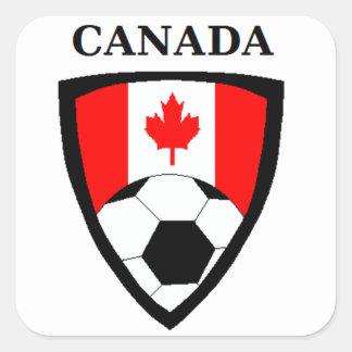 Canada Soccer Square Sticker