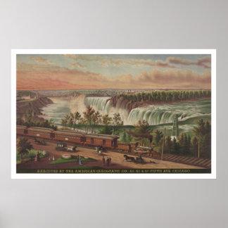 Canada Southern Railway at Niagara Falls Poster