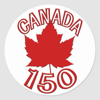 Canada Souvenir 150 Stickers Maple Leaf Stickers