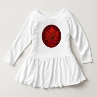 Canada Souvenir Baby Dress Custom Toddler Dress