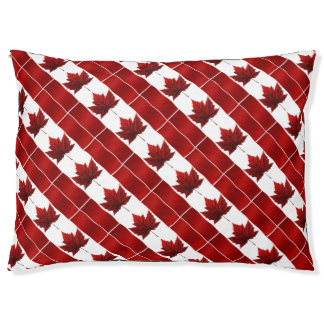 Canada Souvenir Dog Bed Canada Flag Dog Bed Custom Large Dog Bed
