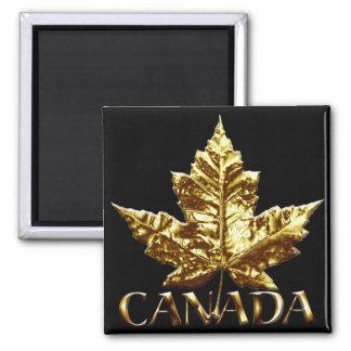 Canada Souvenir Fridge Magnet Gold Canada Gift