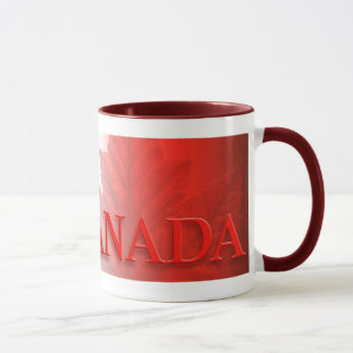 Canada Souvenir Mug Coffee Cup Maple Leaf Cup
