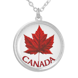 Canada Souvenir Necklace Canada Maple Leaf Jewelry
