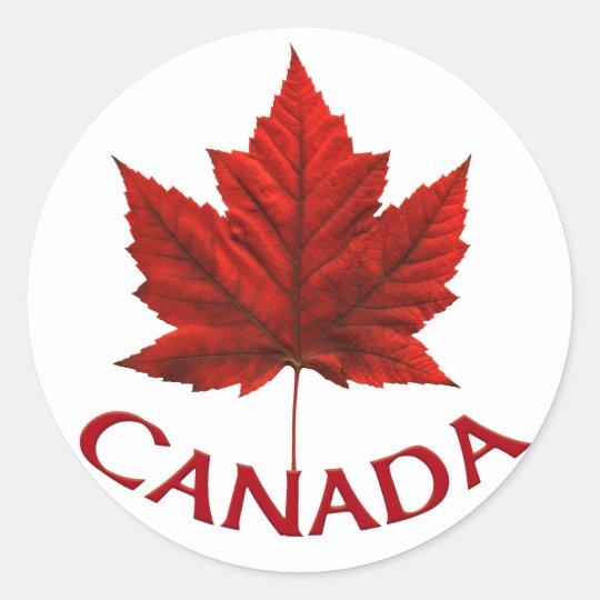 7d5dff23dd8f Canada Souvenir Stickers Red Maple Leaf Stickers