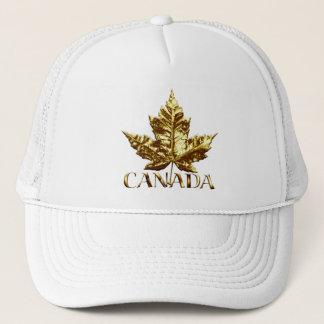 Canada Souvenir Trucker Cap Maple Leaf Canada Caps