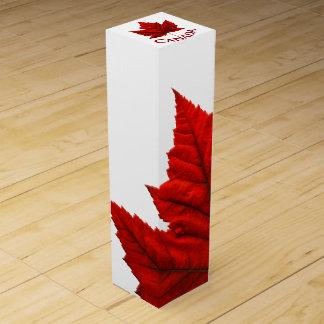 Canada Souvenir Wine Box Custom Canada Box