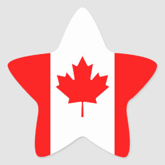 Canada Star Sticker