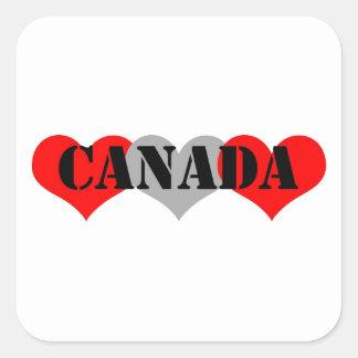Canada Square Stickers