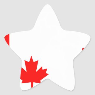 Canada Star Stickers