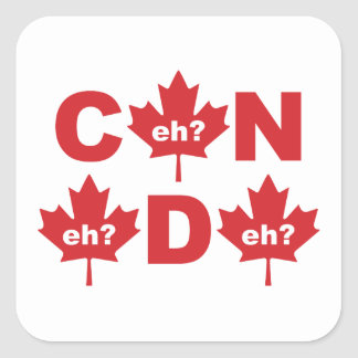 Canada Square Sticker