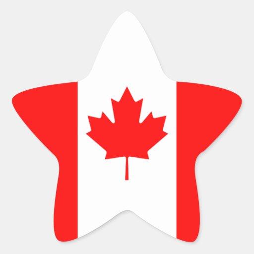 Canada Star Sticker