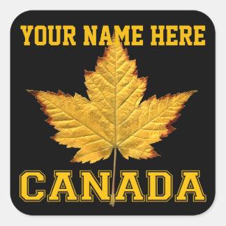 Canada Sticker Customizable Varsity Canada Sticker