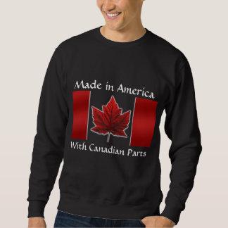 Canada Sweatshirt Canada Flag Sweatshirt