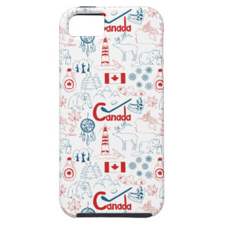 Canada | Symbols Pattern Case For The iPhone 5