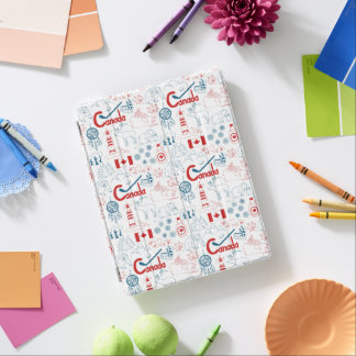 Canada | Symbols Pattern iPad Cover