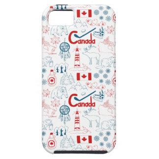 Canada | Symbols Pattern iPhone 5 Cases
