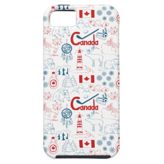 Canada | Symbols Pattern iPhone 5 Cover