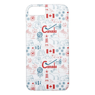 Canada | Symbols Pattern iPhone 8/7 Case
