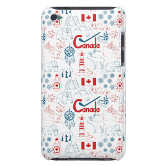 Canada | Symbols Pattern iPod Case-Mate Case