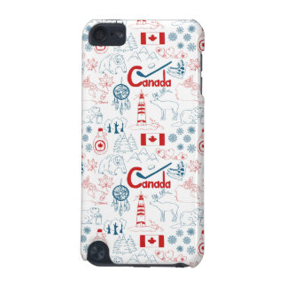Canada | Symbols Pattern iPod Touch 5G Case