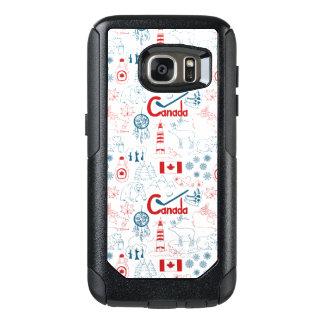 Canada | Symbols Pattern OtterBox Samsung Galaxy S7 Case