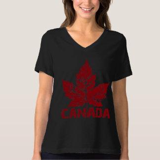 Canada T-shirt Plus Size Canada Women's Shirt