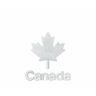 Canada T Shirt - White Canadian Maple Shirt