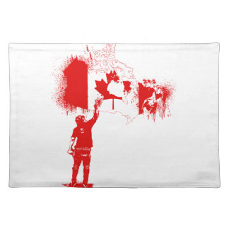 Canada Tagger Red Placemat
