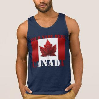 Canada Tank Top Personalized Canada Souvenir Shirt