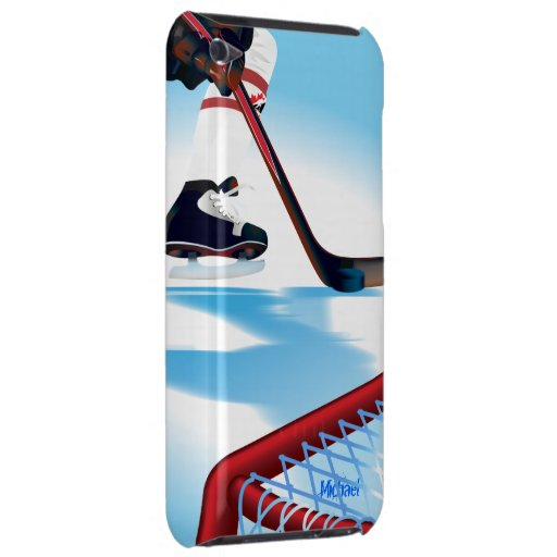 Canada Team Hockey Player iPod  Cover Barely There iPod Case