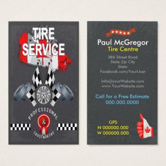 Canada Tire Center Business Card