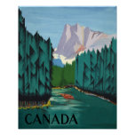 Canada Travel Poster