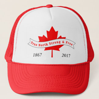 Canada True North Strong and Free Trucker Hat
