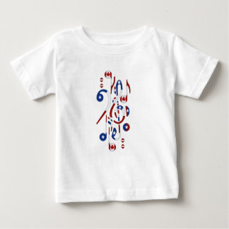 Canada & USA Notes Baby T-Shirt