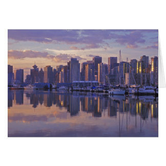 Canada, Vancouver, British Columbia. Vancouver Greeting Card