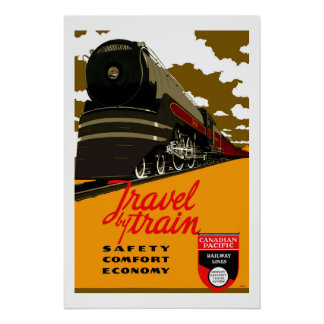 Canada Vintage Travel Print