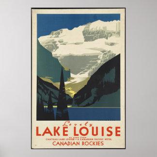 Canada Vintage Travel Poster Ad Retro Prints