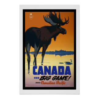 Canada Vintage Travel Posters