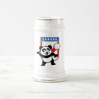 Canada Volleyball Panda Beer Stein