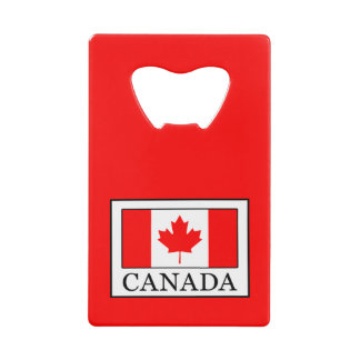Canada Wallet Bottle Opener