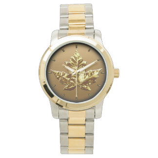 Canada Watch Gold Canada Souvenir Wrist Watches