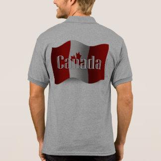 Canada Waving Flag Tshirts