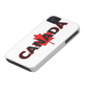 Canada with Maple Leaf BlackBerry Bold Case