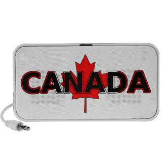 Canada with Maple Leaf Speaker