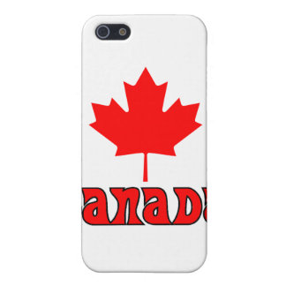 CANADA with red Maple Leaf iPhone 5 Case